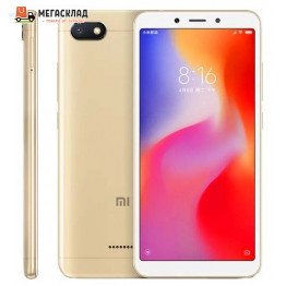 Смартфон Xiaomi Redmi 6A 2Gb/16Gb Gold