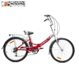 """Велосипед БАЙКАЛ 2408, 24"""" красный"""