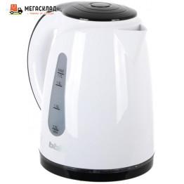 Чайник BBK EK1701P 1.7л 2.2кВт бел/черный