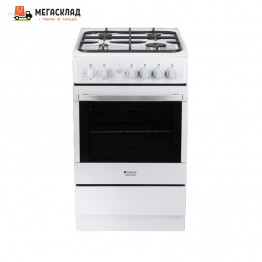 Газовая плита Hotpoint-Ariston H5GG1C(W)