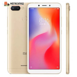 Смартфон Xiaomi Redmi 6 3Gb/32Gb Gold